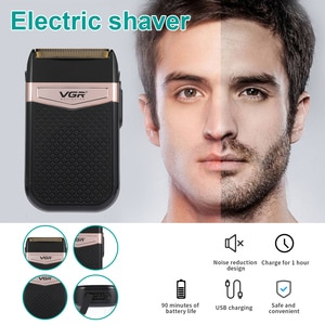 Electric Shaver Men's Razor Beard Trimmer shaver for men portable beard trimmer cutting Shaving machine USB Rechargeable Newest