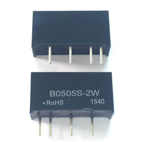 5PCS/LOT B0505S-2W B0505S Isolated Power Supply Module from 5V DC-DC new original