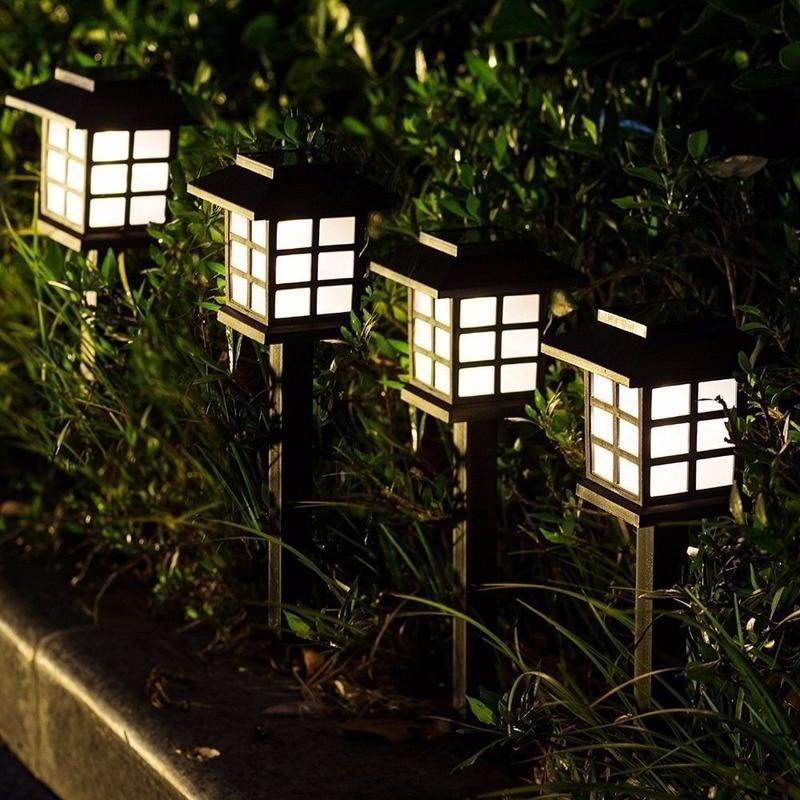 mini luz solar de jardim para areas externas luz led a prova dagua para decoracao