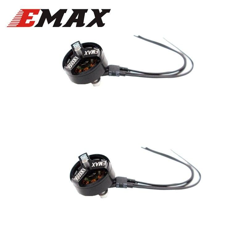 EMAX Tinyhawk II 75mm 1-2S Whoop 0802 16000KV 1-2S Motor sin escobillas para RC Quadcopter de Multicopter Dron de carreras con visión en primera persona piezas de control remoto