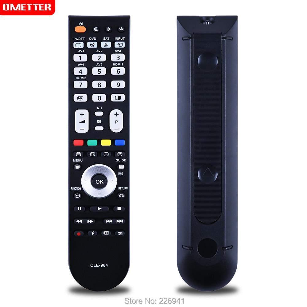 Для экскаватора Hitachi ТВ дистанционный пульт CLE-984 Универсальный CLE-984 P50T01E P50T01U P42TP01U CLU-4984S CLE-966A P42A202 P50A202 P50A402 ЖК-дисплей