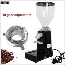 Xeoleo Elektrische kaffeemühle Kommerziellen & hause Kaffee Bean Grinder Türkischen kaffee Fräsen maschine Professionelle Miller 200W