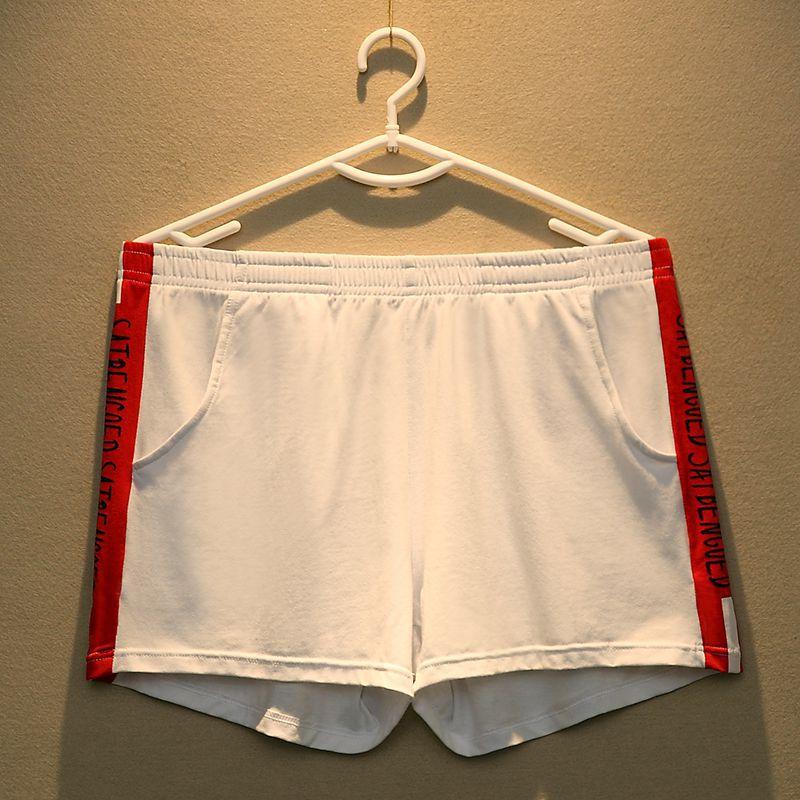 Трусы-боксеры мужские из хлопка, удобные дышащие свободные шорты, нижнее белье