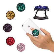 Support pour téléphone universel support extensible et poignée Bling diamant doigt support de prise en main pour téléphones prise de poche support de téléphone portable