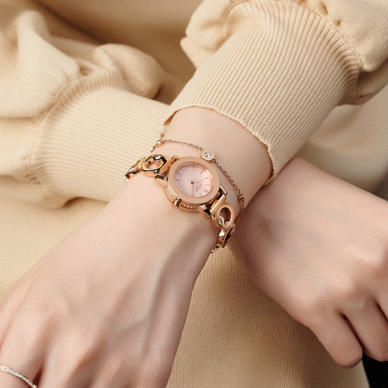 Watches Women Fashion Luxury Crytsal Glass High Quality Ladies Dress Watch Stainless Steel Ladies Timepiece Wrist for Female enlarge