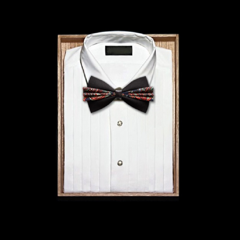 High Quality 2020 New Fashion PU Leather Bow Ties for Men Designers Brand Wedding Butterfly Men's Bowtie Groom Bow Tie Gift Box