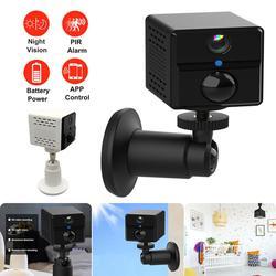 1080p hd bateria wi fi câmera de vigilância sem fio 2.0mp segurança em casa à prova dwaterproof água alarme pir áudio baixa potência ao ar livre câmera ip