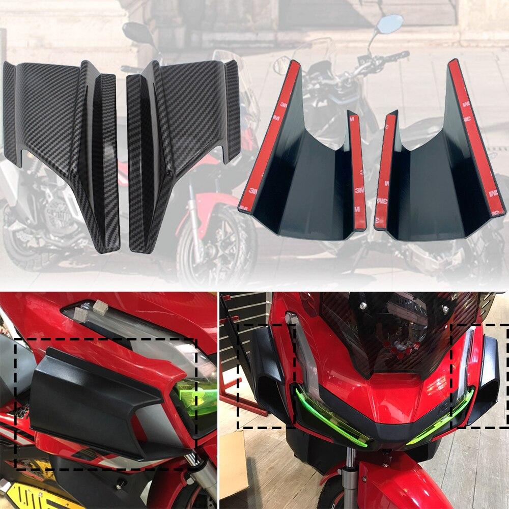 REALZION دراجة نارية ABS الجانب الأمامي وينجليت الرياح هوائي هدية تلميح حامي غطاء لهوندا lol150 ADV 150 ADV-150 2019 2020