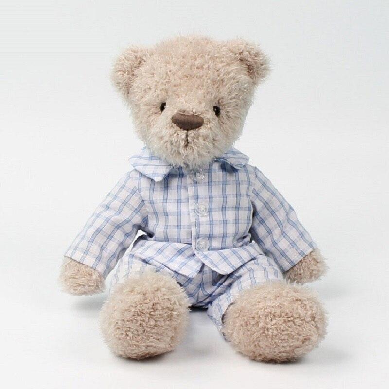 2021 New Bear Plush Toy Stuffed Dressing Appease Animal Doll Christmas Gift For Baby Children