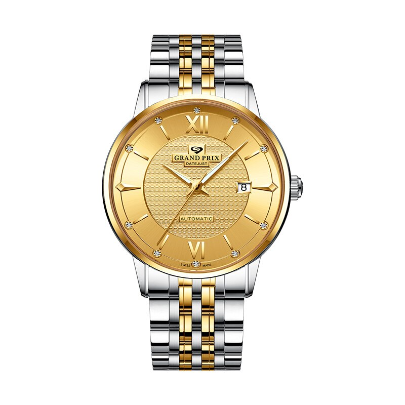 Luxury Watch Men Mechanical Wristwatches Top Brand 2020 GATTI Waterproof Sports Automatic Women Watches Gold Clocks мужские часы