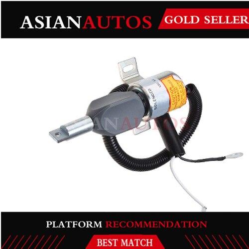 894450-7231 894450723 MV1-40 solenoide de apagado de combustible 12V para piezas de motor Isuzu
