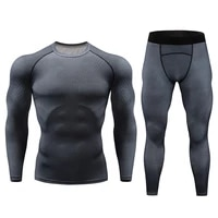2021 new thermal underwear sets men brand compression anti microbial stretch mens thermo underwear male warm long johns for men