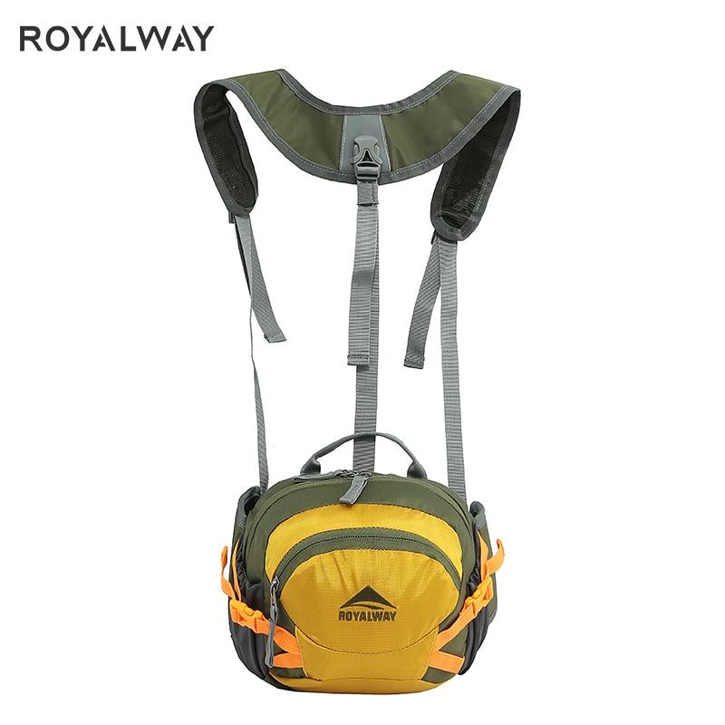 ROYALWAY 2019 nuevo viaje al aire libre deportes correas desmontables Cámara mochila alta calidad exterior bolsa RPBB0334G