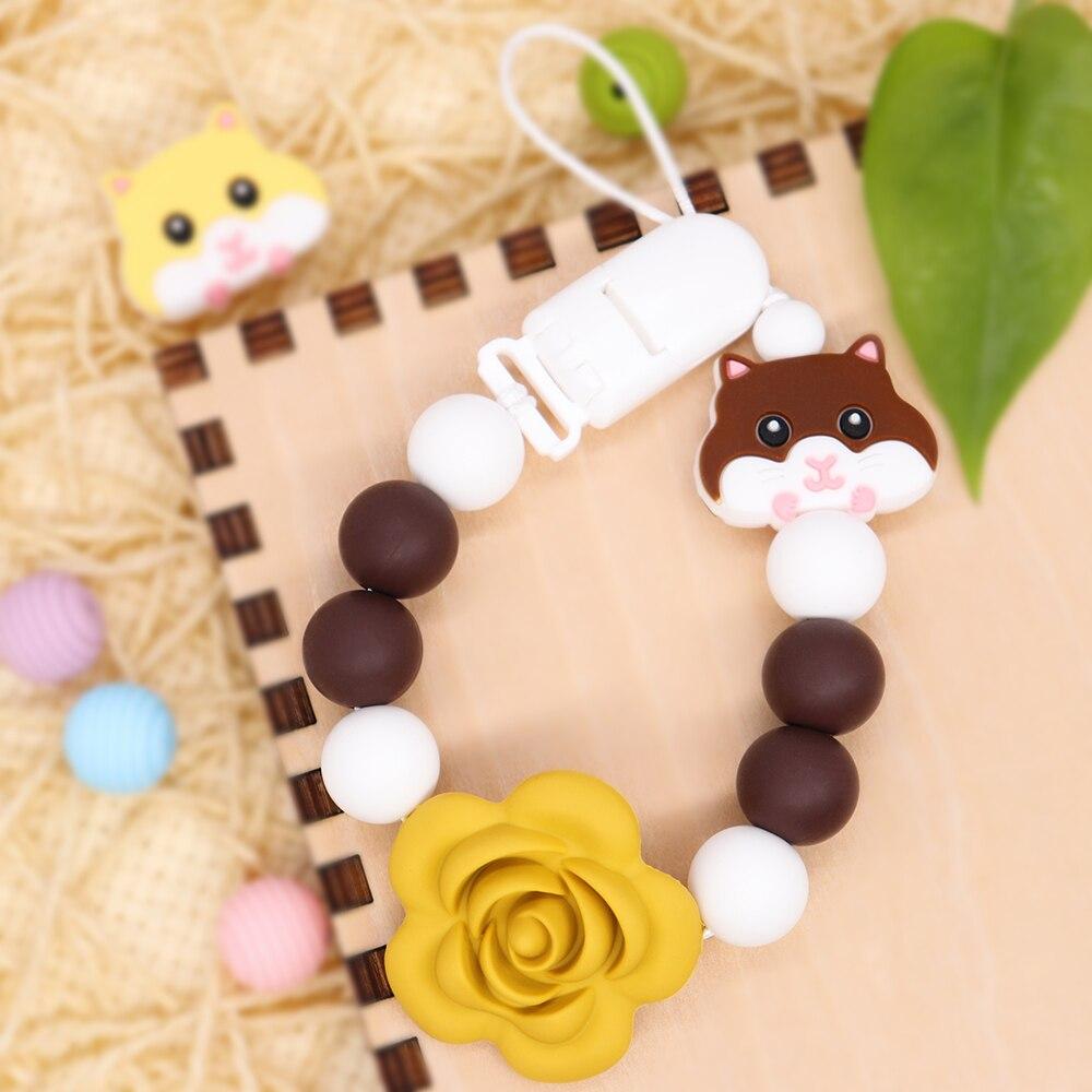 Клипсы для соски-пустышки для младенцев жевательные игрушки клипсы для соски ручной работы игрушки для кормления новорожденных подарок дл...