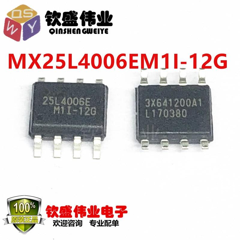 MX25L4006EM1I-12G SOP-8 MXIC25L4006EM1I-12G 25L4006EM1I-12G