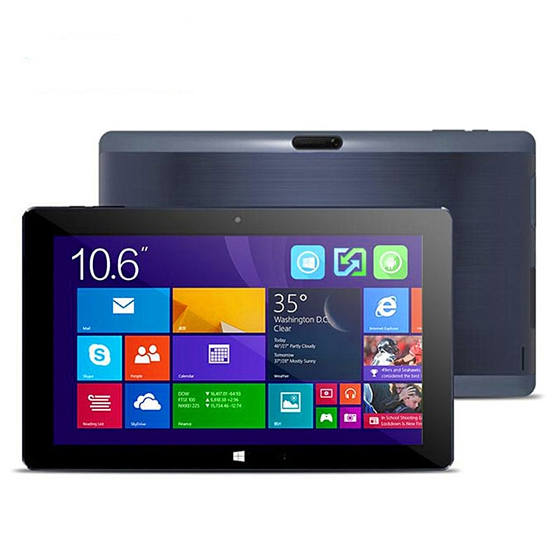 2GB DDR+32GB 10.6 INCH Dual System Cu be Windows 8.1 + Android 4.4 TabletPC 1366*768 IPS Screen Dual Camera