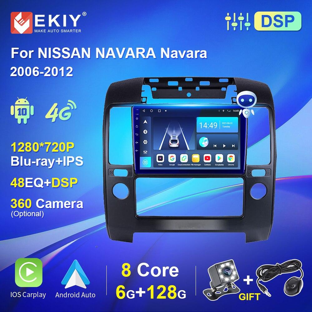 nissan navara Автомагнитола для NISSAN NAVARA Navara 128-10,0, 2DIN, GPS, Wi-Fi, 2006 ГГц, Android 2012
