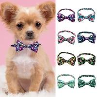 cute tropical fruit pet tie fresh flamingo pet tie comfortable exquisite dog cat tie fashion dog decorations pet supplies