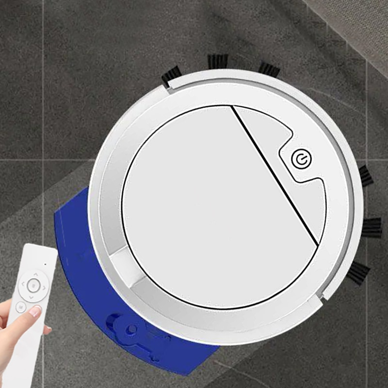 2800Pa Ultra-thin Robot Vacuum Cleaner With Water Tank  Vacuum Cleaner Remote Control Wet And Dry Sweeping Mopping Cleaner