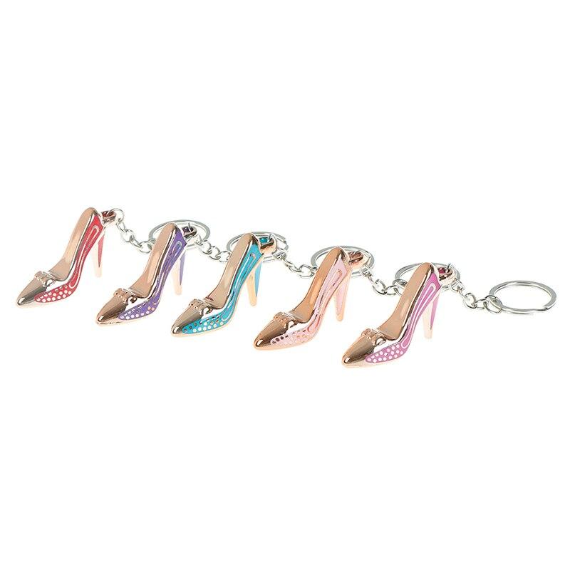 1 шт. акрил на высоких каблуках брелок в форме обуви, моделирование кулон брелок для ключей, подарок промо-акции, личность, креативный подаро...
