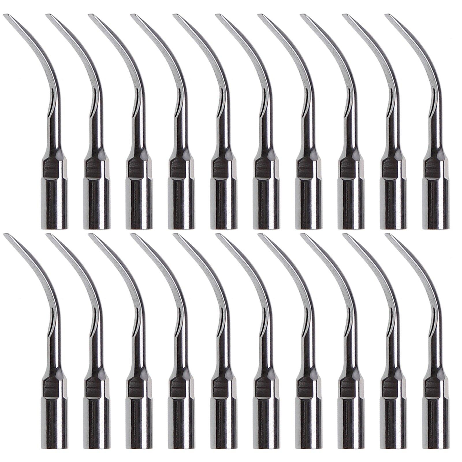 dental endo perio scaling tips for ems ultrasonic scaler handpiece 20Pcs Dental Ultrasonic Scaler Scaling Perio G6 Tips compitable for EMS/WOODPECKER