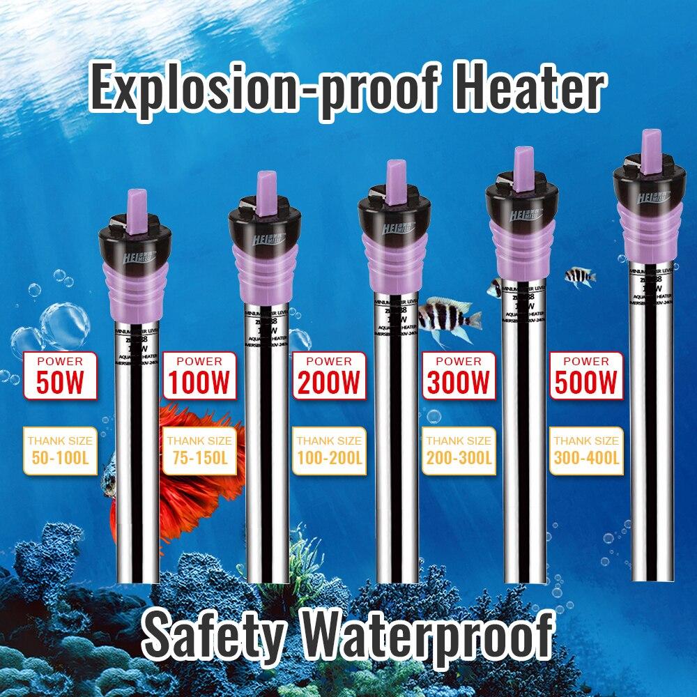 Acuario sumergible, tanque de peces, Calefacción Automática de temperatura constante, barra de ahorro de energía, calentador para acuario, accesorios