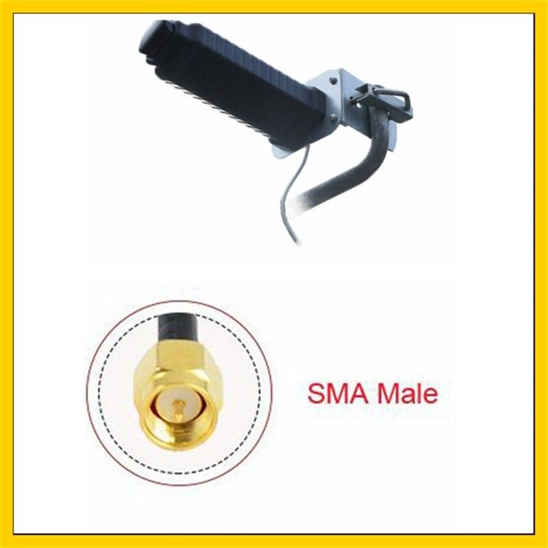 20dbi 4G LTE Antena Yagi antena Omni al aire libre antena SMA conector macho para huawei ZTE 3G 4G router modem de 5M o 10M de cable