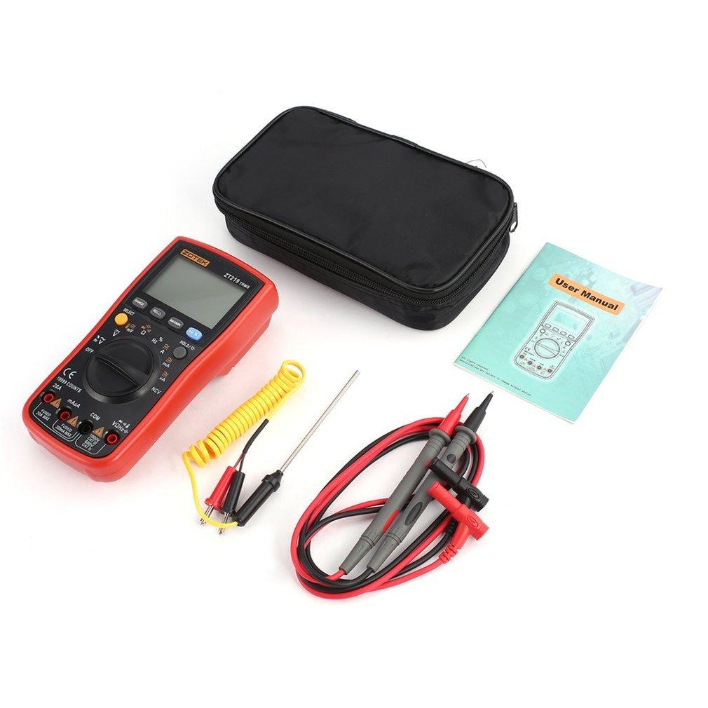 Zotek219-multímetro Digital, Transistor mega328 lcr análogo rm409b esr, medidor, condensador, probador