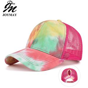 JOYMAY 2020 New Sun hat Shading Cap Fashion style unisex embroidery Mesh Baseball Cap Casual leisure hat B733