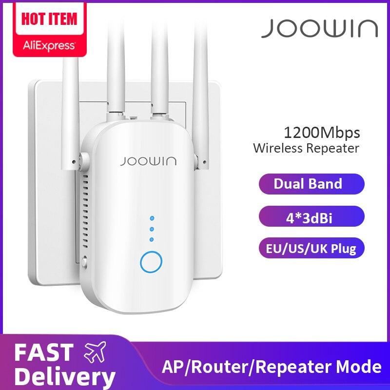 1200 Мбит/с двухдиапазонный 2,4G и 5 ГГц беспроводной удлинитель 802.11ac Wifi ретранслятор мощный Wi-Fi роутер Wlan Wi-Fi усилитель большого радиуса