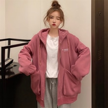 Waitmore Sweater Women's Autumn and Winter Loose Korean Style Ins Idle Style Fleece-Lined Thickened