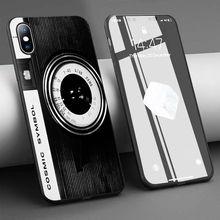 Coque lomo câmera símbolo cósmico macio silicone caso do telefone para o iphone 11 pro max x 5S 6 s xr xs max 7 8 plus caso capa de telefone