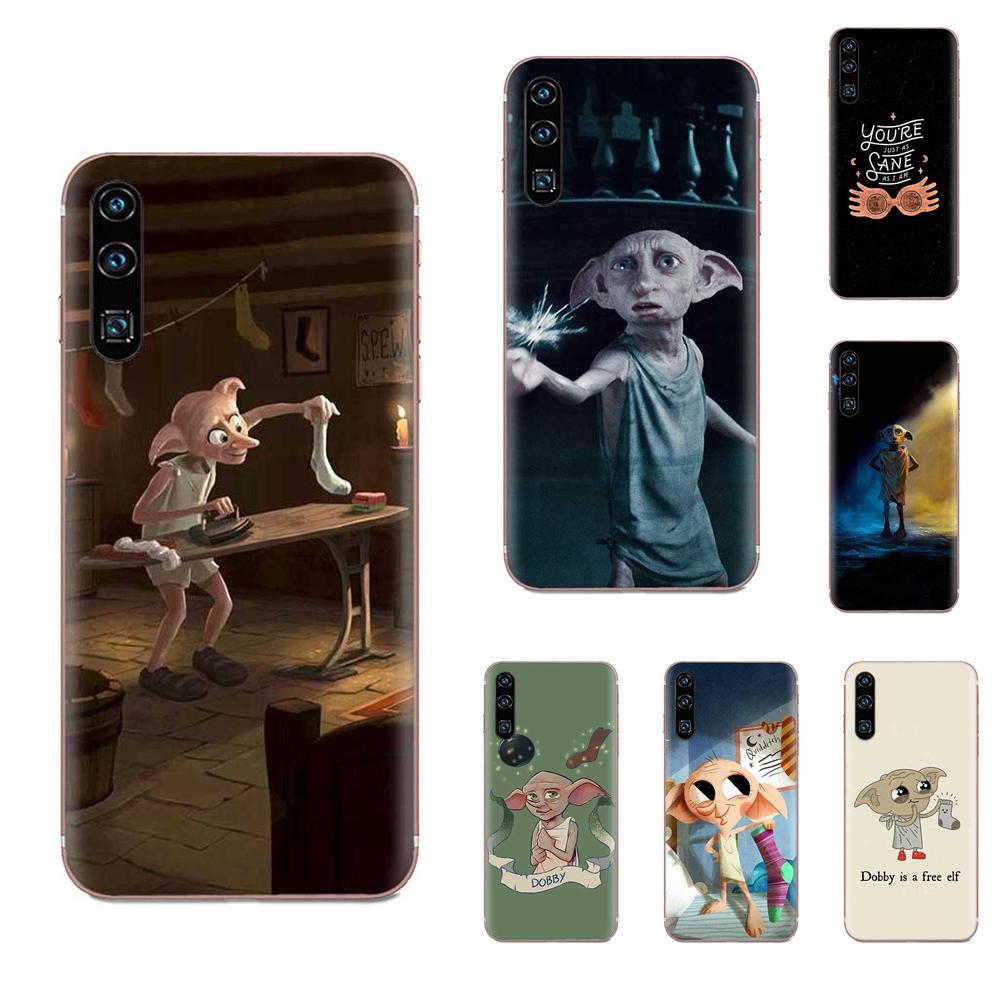 Película Dobby clásica para Galaxy J1 J2 J3 J330 J4 J5 J6 J7 J730 J8 2015 2016 2017 mini Pro, carcasa blanda para teléfono