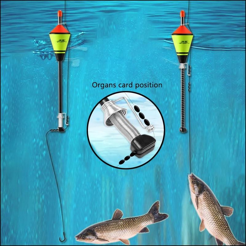 1 pçs venda quente portátil automático acessórios de pesca flutuador pesca rápida artefato dispositivo flutuador de pesca