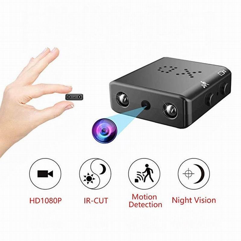 Mini cámara HD 4K 1080P Mini DV DVR seguridad IR visión nocturna grabadora de vídeo cámara Mini videocámara 3F05