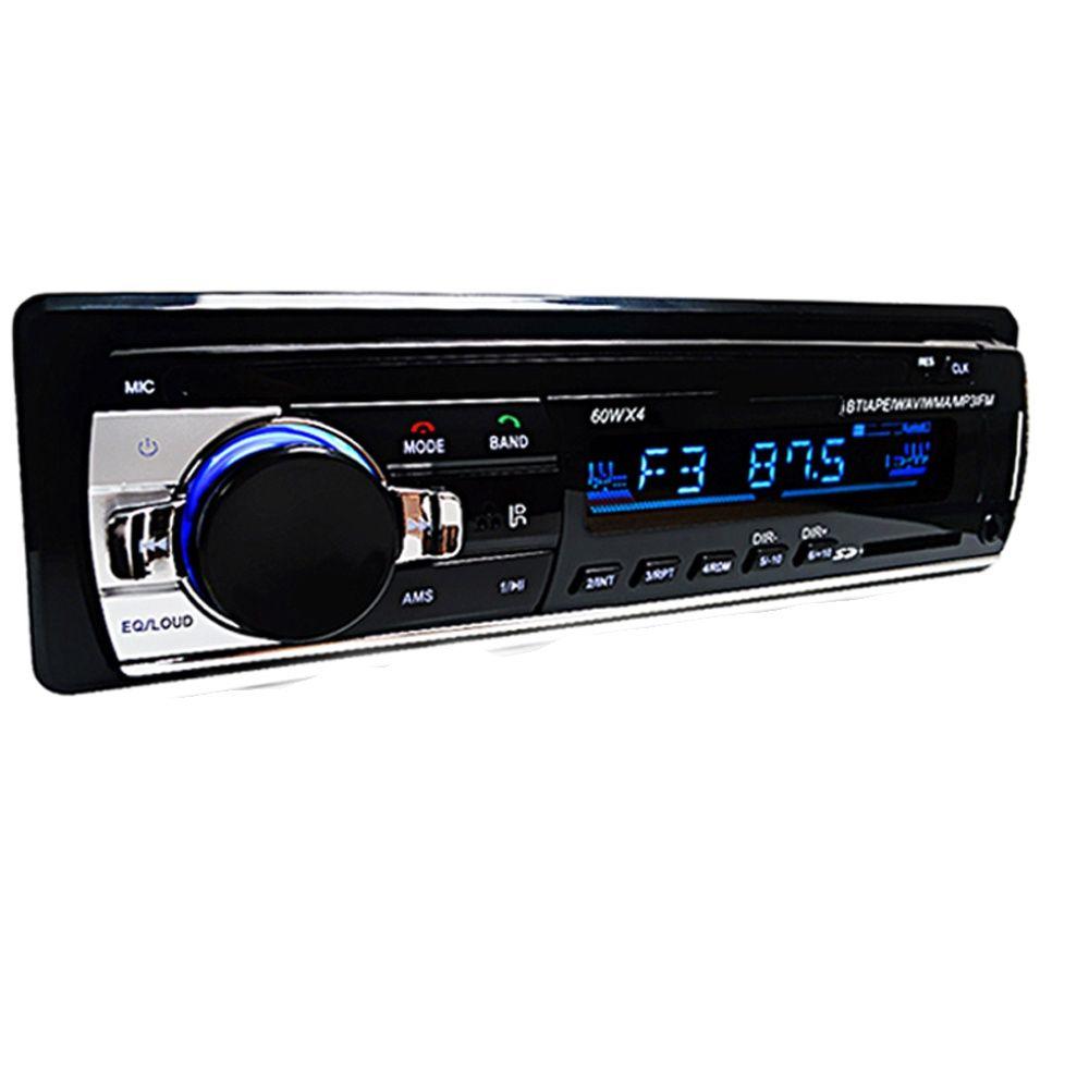 Car Radio Stereo Player Digital Bluetooth Car MP3 Player 60Wx4 FM Radio Stereo Audio Music USB/SD with In Dash AUX Input reproductor hifi mp3 player bluetooth with headphones fm radio e book reading mini usb music player audio lecteur mp 3 walkman