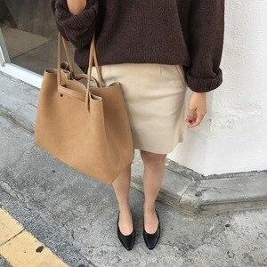 2020 retro portable frosted big bag simple single shoulder female large capacity handbag shoulder bag messenger bag female bag