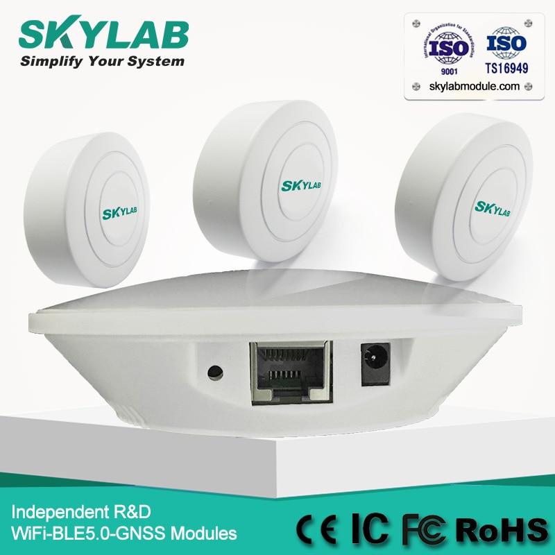 El SKYLAB TD05 WiFi genérico faro/receptor ibeacon pasarela TCP/HTTP(S)/MQTT puentes balizas