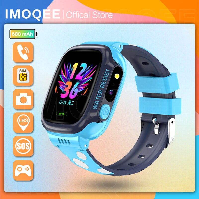 NEW 2021 Smart Watch Kids GPS Y92 Wifi Positioning Tracker Waterproof Smartwatch children's Back Mon