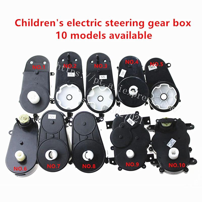 Игрушечный рулевой редуктор RS380 с мотором, рулевой мотор для автомобиля с дистанционным управлением, детский электромотор для руля 280