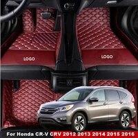 car floor mats for honda cr v crv 2012 2013 2014 2015 2016 custom carpets rugs auto interior mat accessories car styling