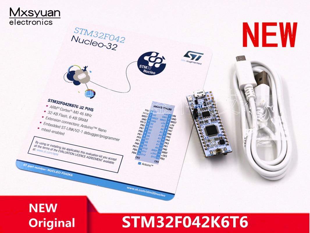 NUCLEO-F042K6 STM32F042K6T6 MCU يدعم لوحة تركيبية تطوير اردوينو