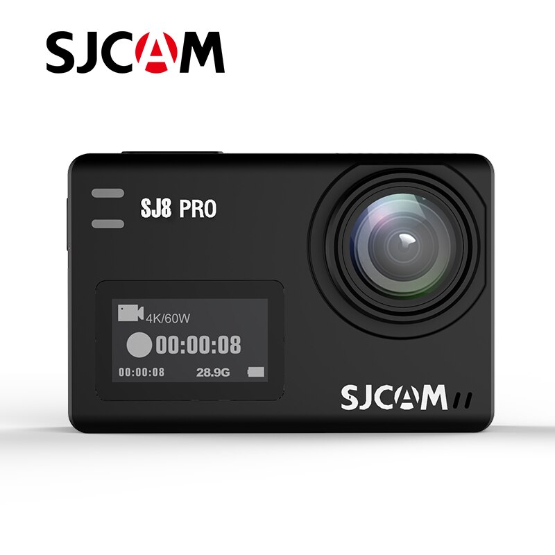 SJCAM SJ8 برو Ambarella شرائح مقاوم للماء الحقيقي 4k عمل الكاميرا الرياضية