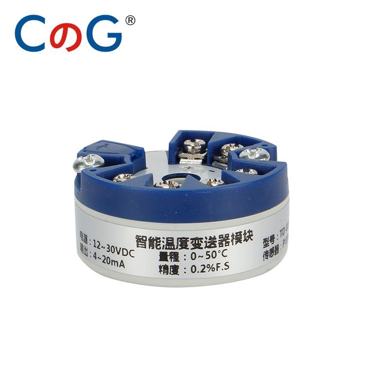 Termopar programable K J PT100 a 4-20mA convertidor TC RTD entrada 4-20mA salida cabeza-montaje transmisor de temperatura con USB