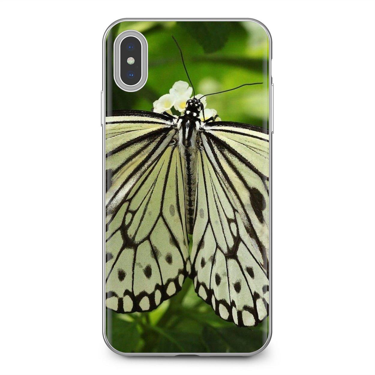 Popular de silicona funda de teléfono para Xiaomi Redmi 4A 7A S2 Nota 8 3S 3S 4 4X 5 Plus 6 7 6A Pro teléfono móvil F1 Macro mariposa insecto