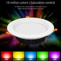 miboxer rgbcct led downlight 6w9w12w18w25w dimmable ceiling ac110v 220v indoor panel lighting lamp 2 4g remote app control