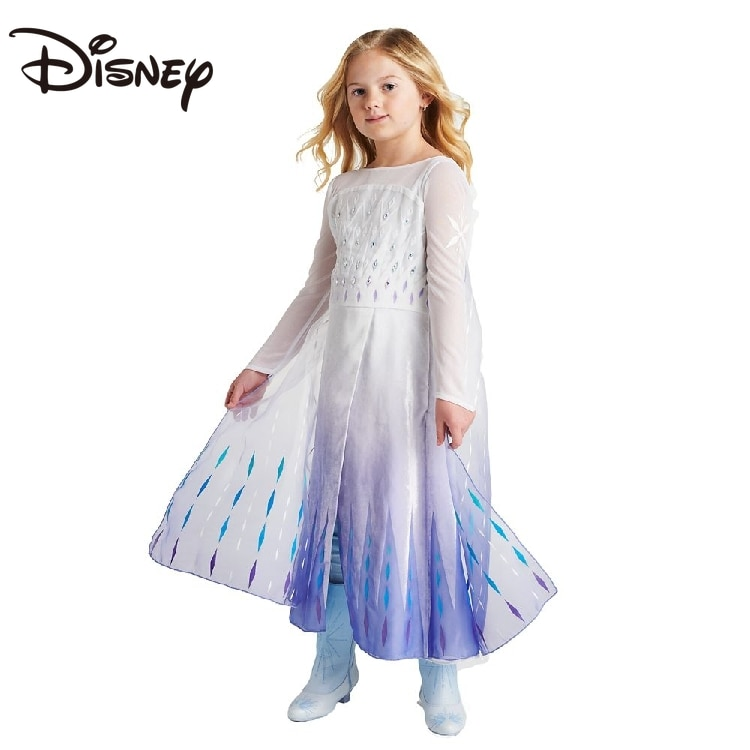 Disney Frozen 2 Elsa Anna Same Style Coronation Deluxe Edition Dress Princess Dress skirts womens skirts for women