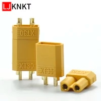 100pcs xt30 plug connector male female 2mm for rc lipo battery rc multicopter airplane banana plug
