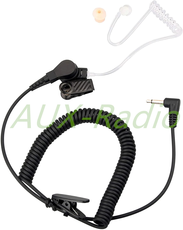 Наушники для радио 3,5 мм Акустическая трубка Гарнитура для двусторонней динамик для радио микрофоны Домкраты PU шнур для наушников