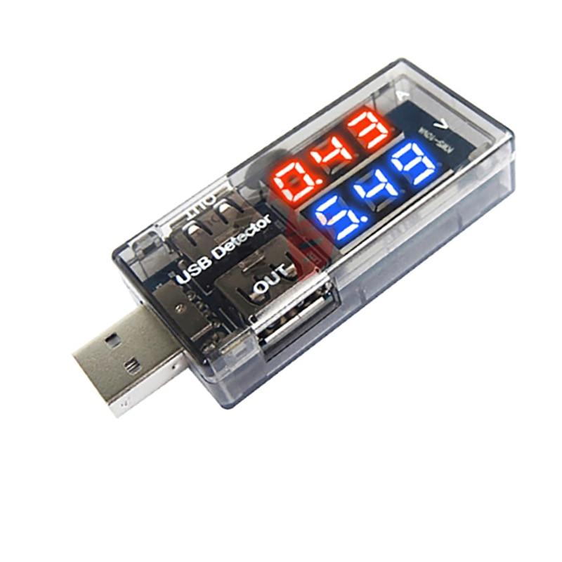 Led voltímetro digital amperímetro carro motocicleta volt amp detector testador dc 100 v 10a medidor de tensão corrente carregador usb